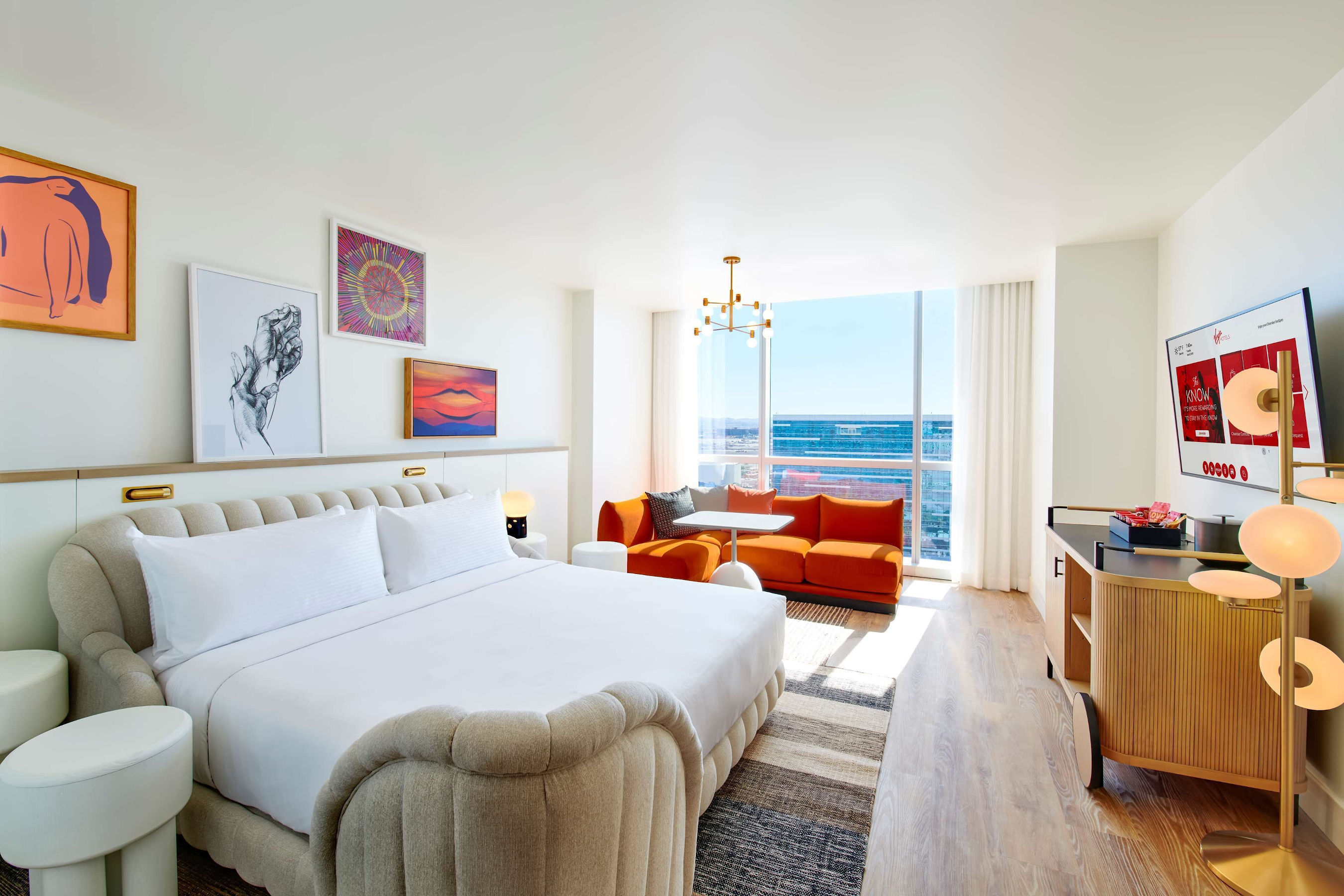 Save on a Stay at Virgin Hotels Las Vegas, Curio Collection by Hilton During Expedia Travel Week