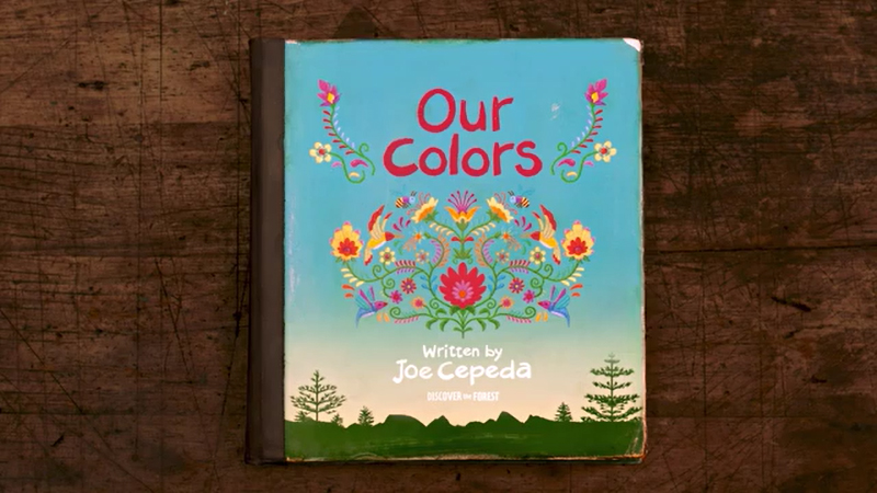 """""""Our Colors""""   TV :60"""