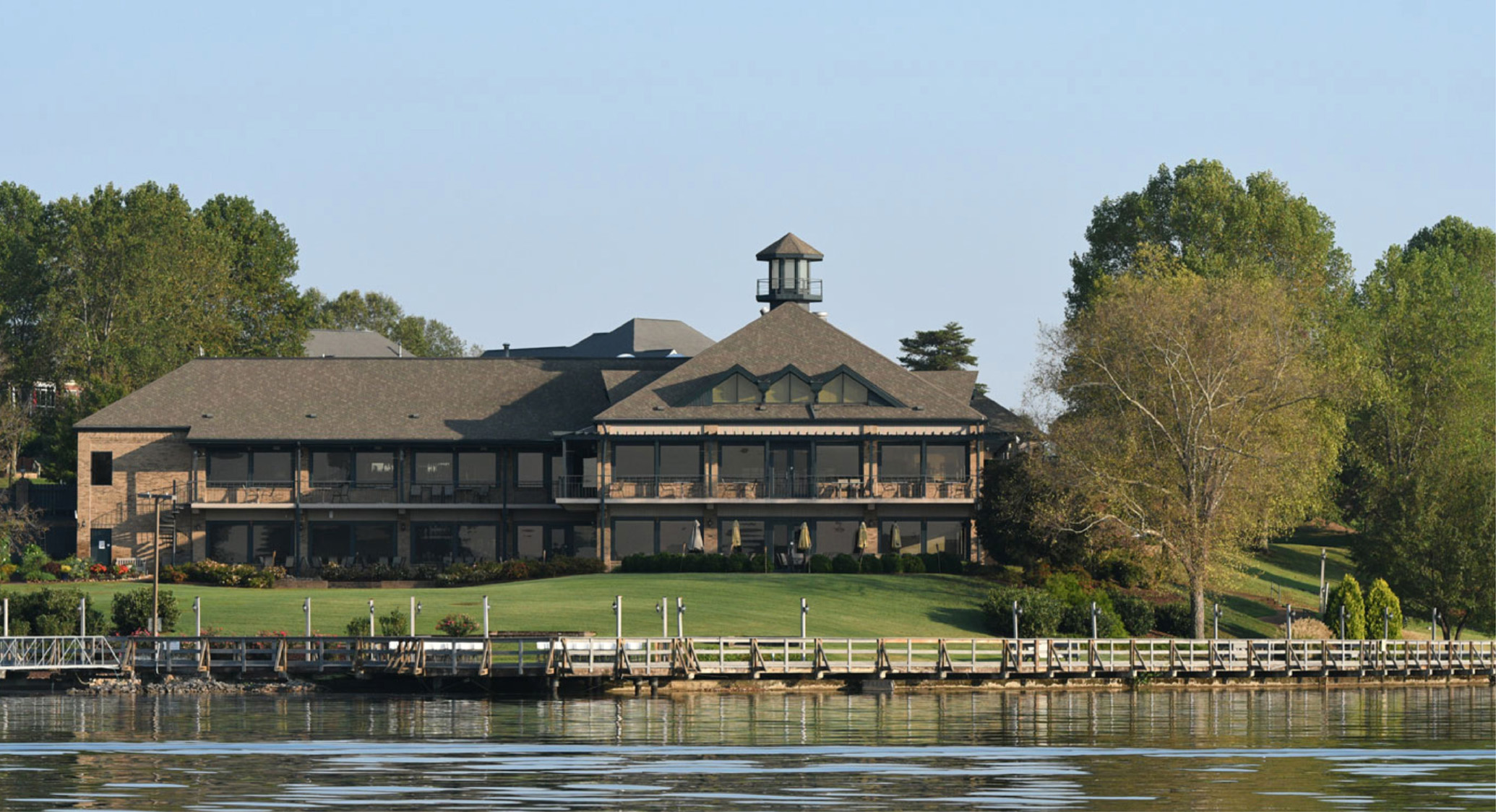 The Tellico Village Yacht and Country Club serves residents as the social and dining center of the Village.