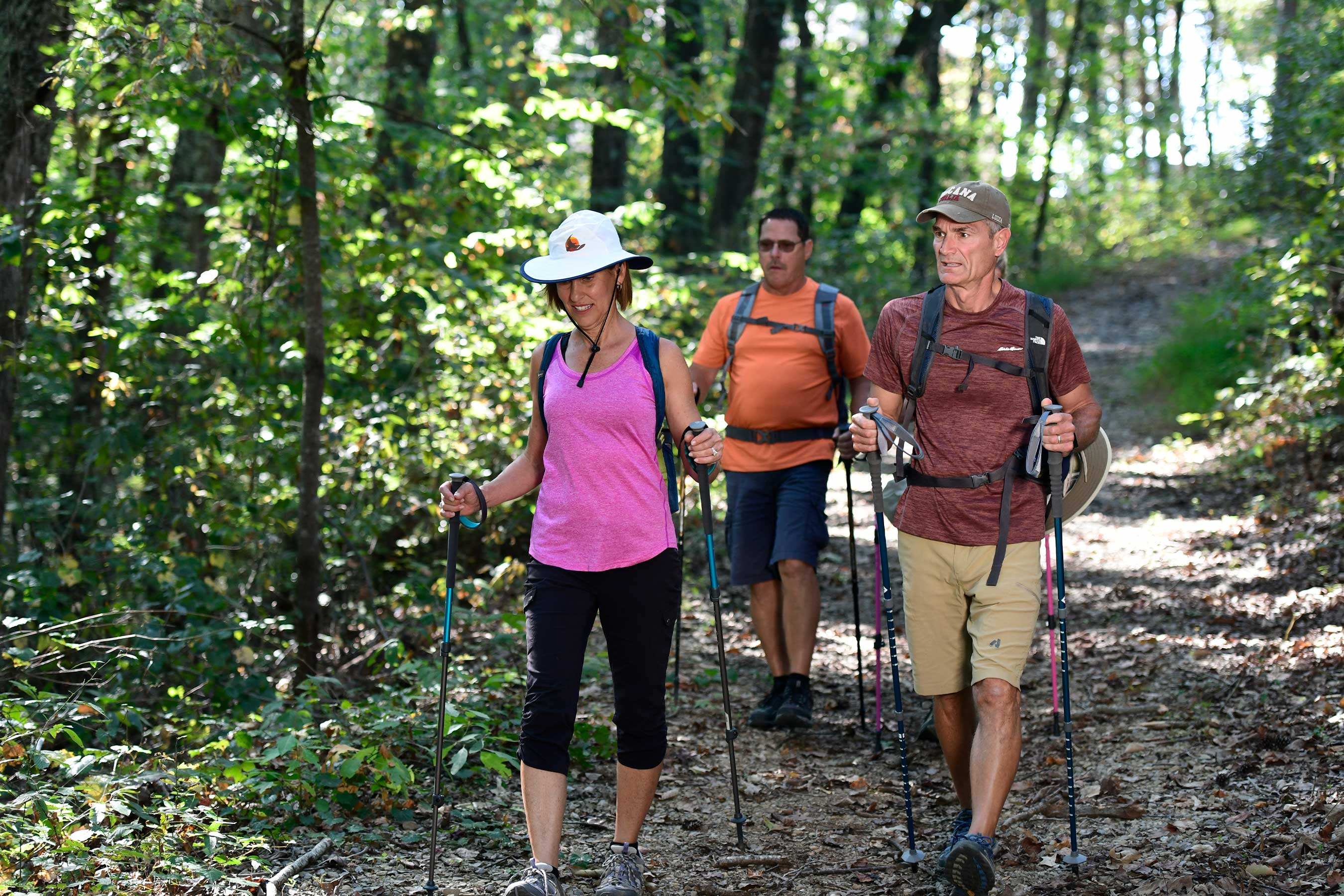 Tellico Village boasts 20-plus miles of hiking trails, keeping residents in healthy motion.