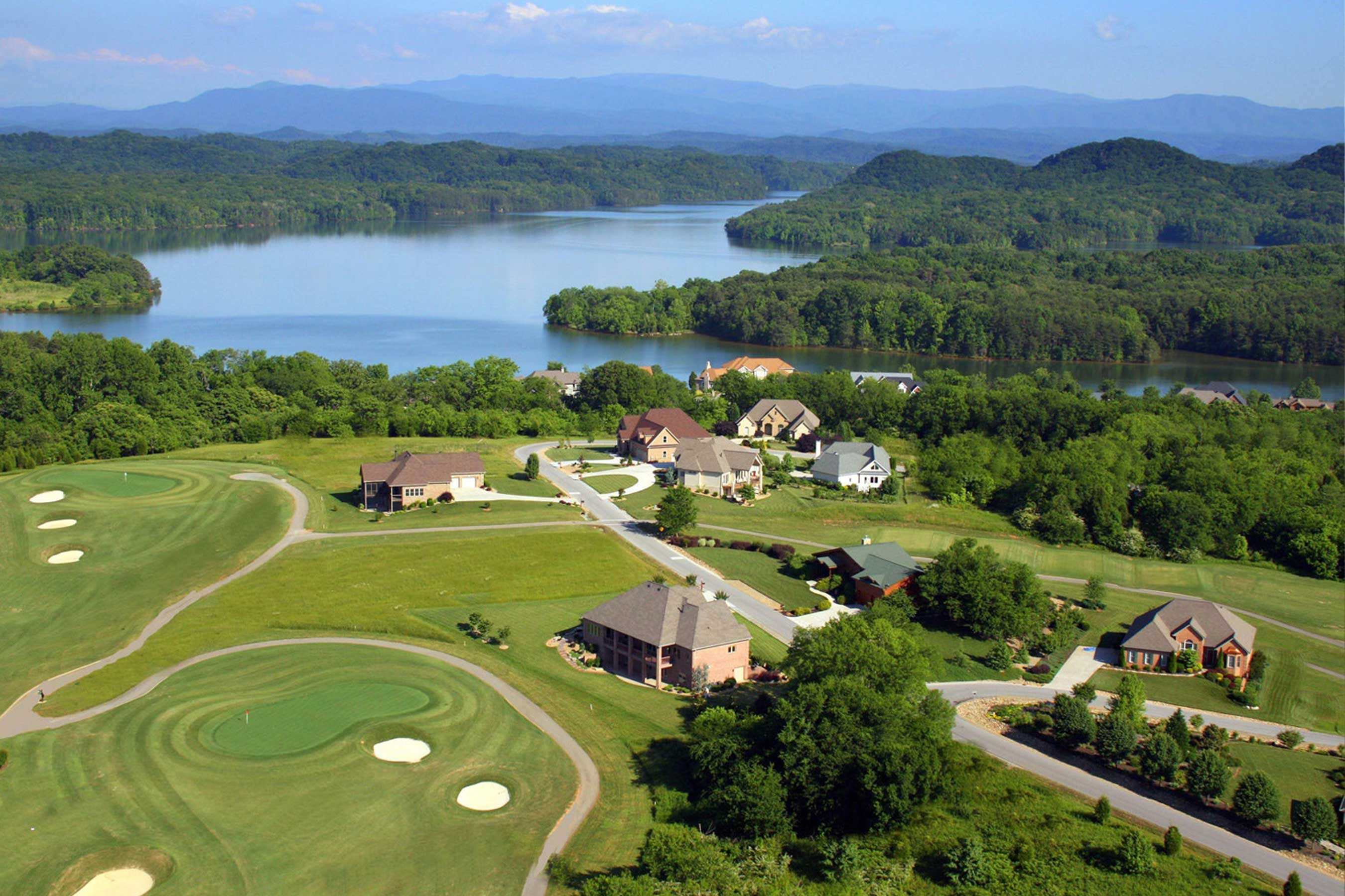 Tellico Village sits on nearly 5,000 acres along the shore of Tellico Lake, and is home to three award-winning golf courses.