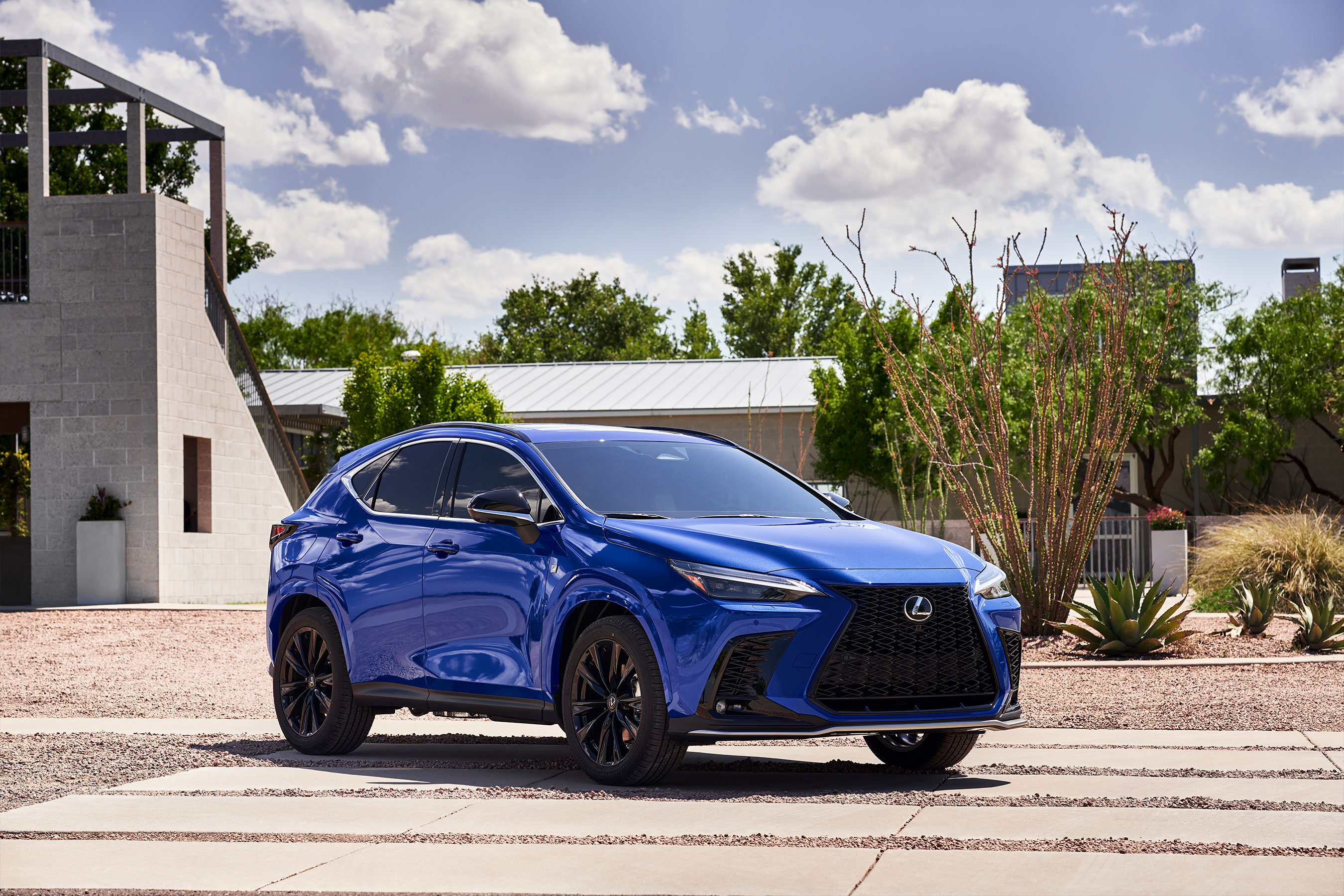 With a lower center of gravity and stronger stance, the all-new Lexus NX embodies powerful design, intuitive innovation and boundless utility.