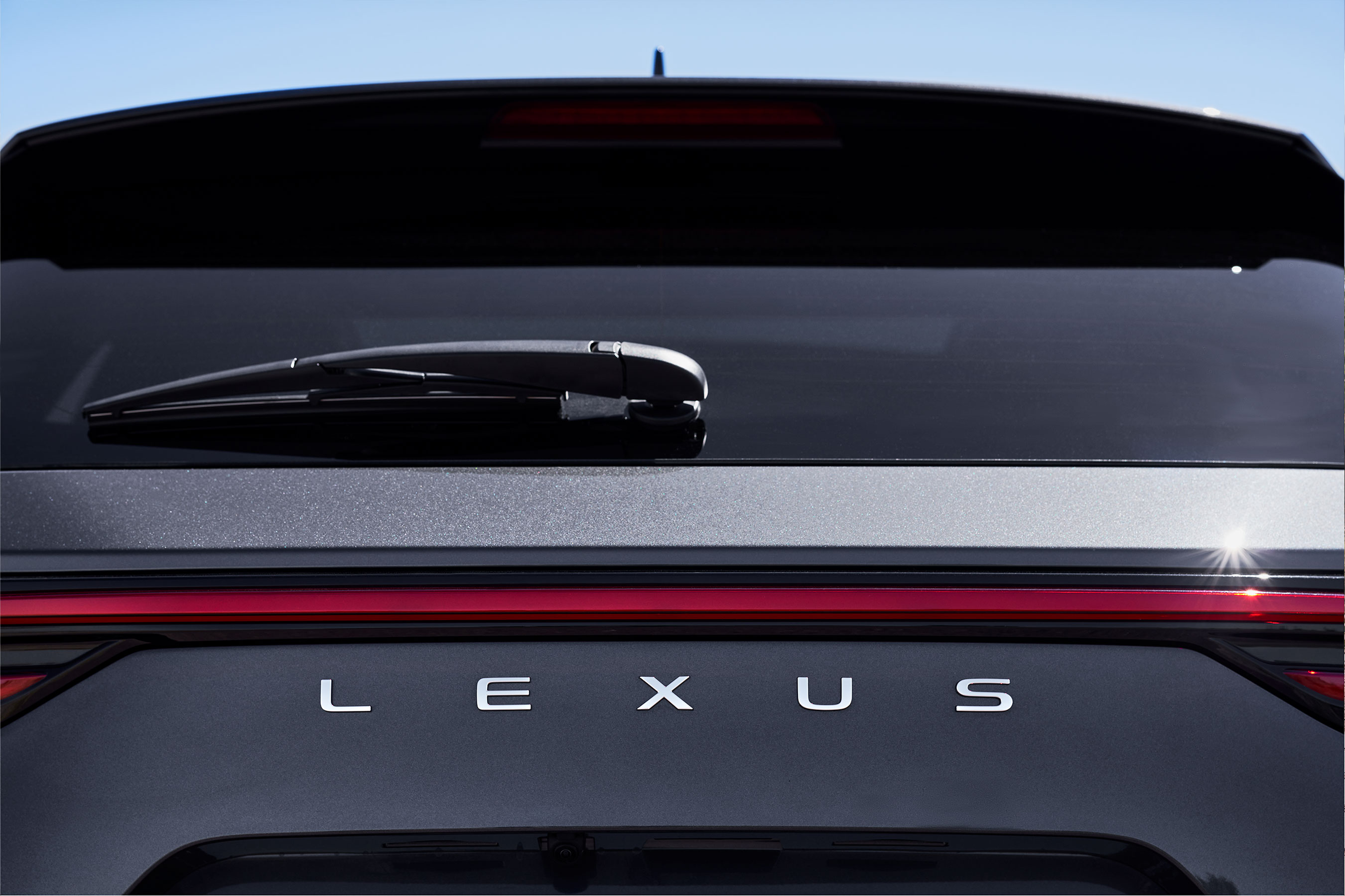 As a brand first, the Lexus NX will feature the new, unified LEXUS logo located on the back of the vehicle in the center.