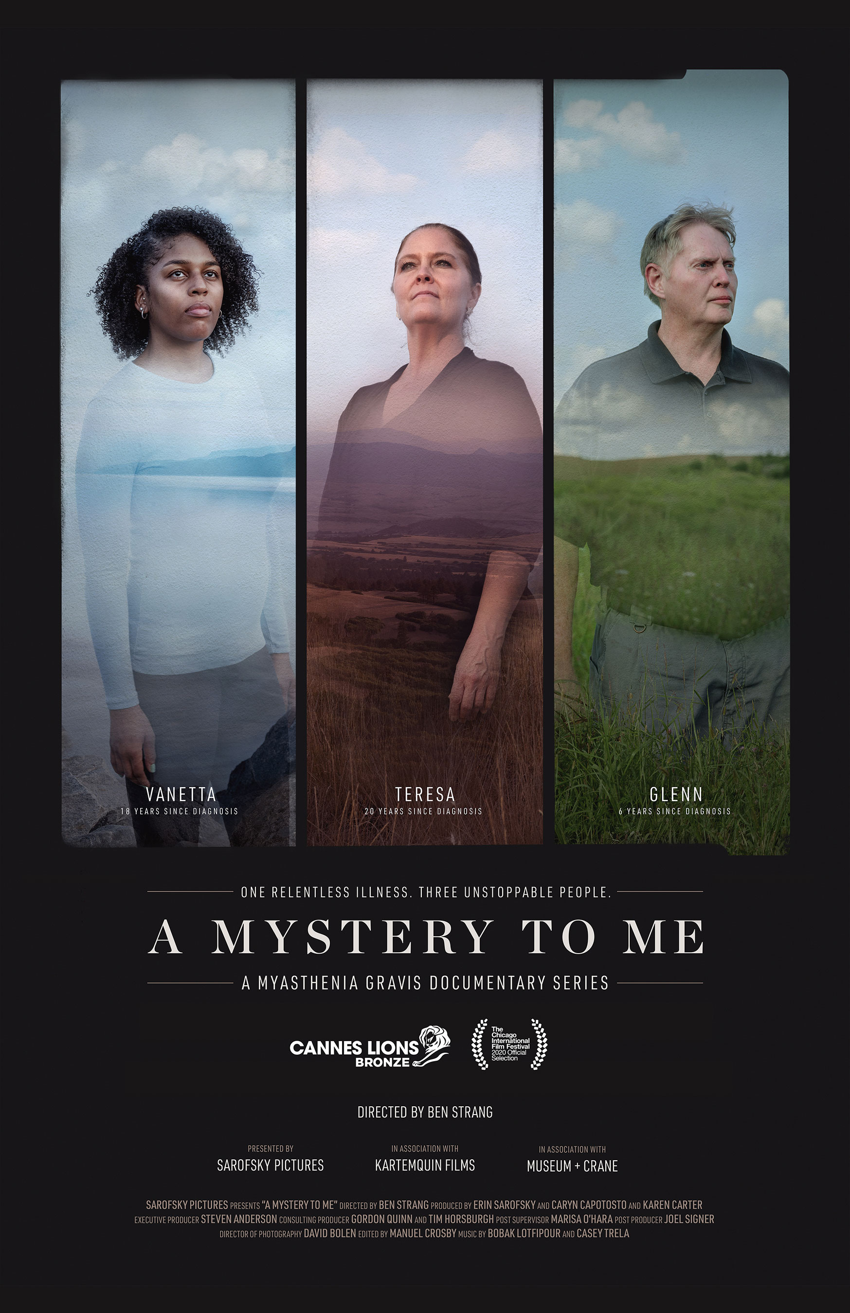 """In """"A Mystery to Me,"""" hear the untold stories of three people who must live with myasthenia gravis, a rare neuromuscular disease."""