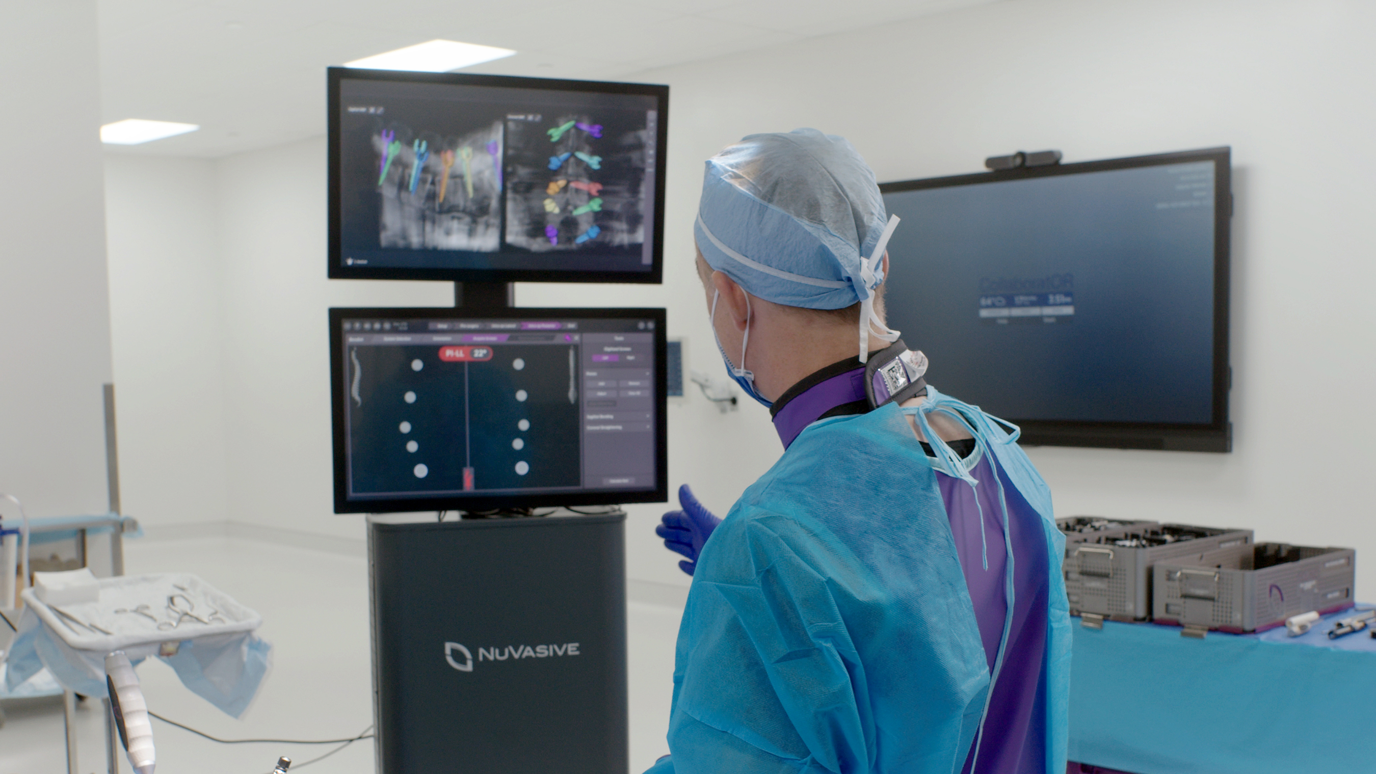 Pulse is an integrated technology platform designed to increase safety, efficiency, and procedural reproducibility of spine surgery.