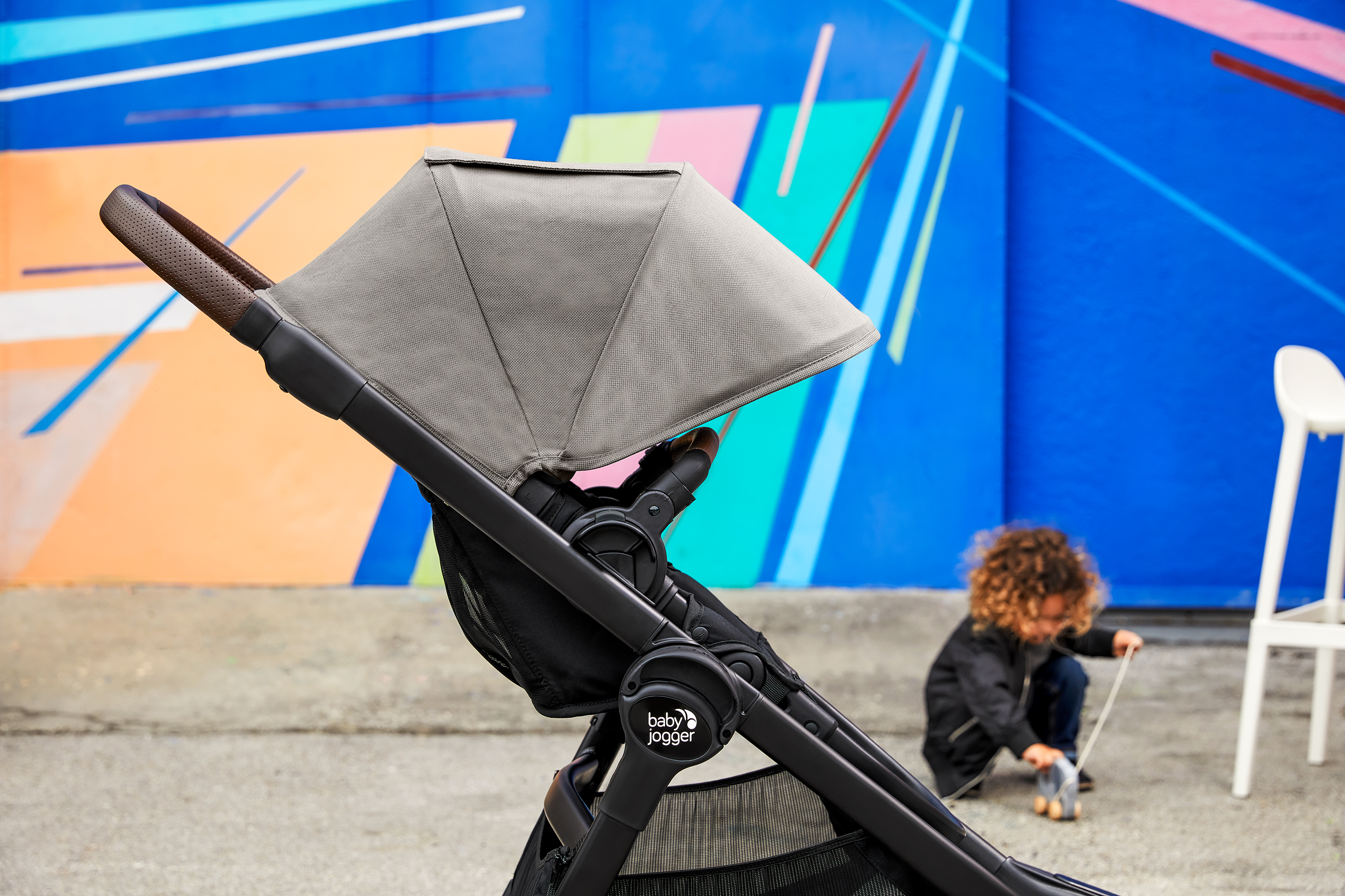 Baby Jogger® strollers conquer curbs and stairs, fold small for travel, and are built strong to let you wander off the beaten path and enjoy your journey together.