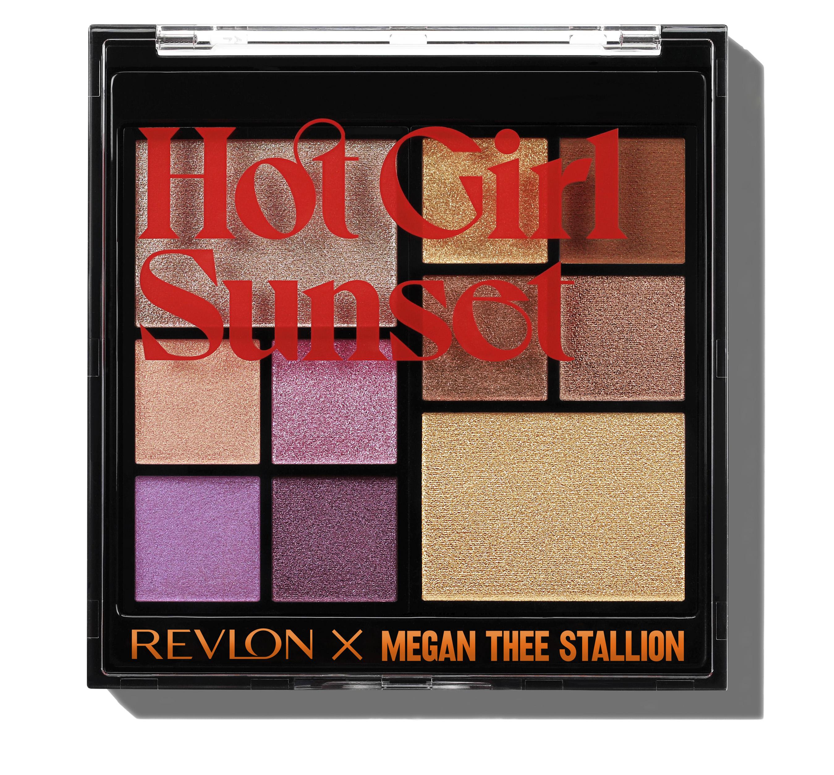 DropX Exclusive Revlon x Megan Thee Stallion Hot Girl Sunset Palette
