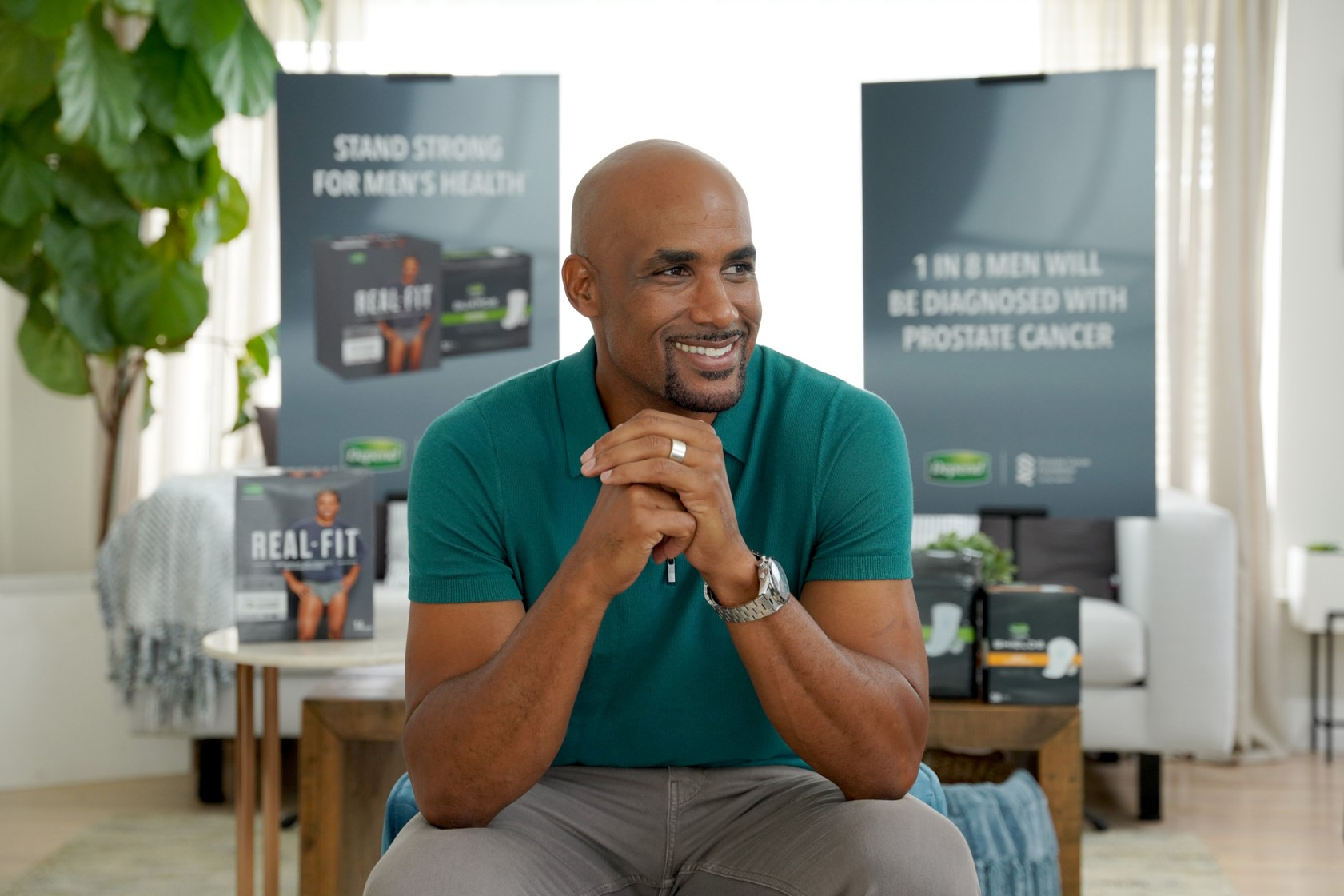 Boris Kodjoe joins Depend® to Stand Strong for Men's Health™, an initiative to celebrate the strength of those fighting prostate cancer and men championing important conversations around their health.