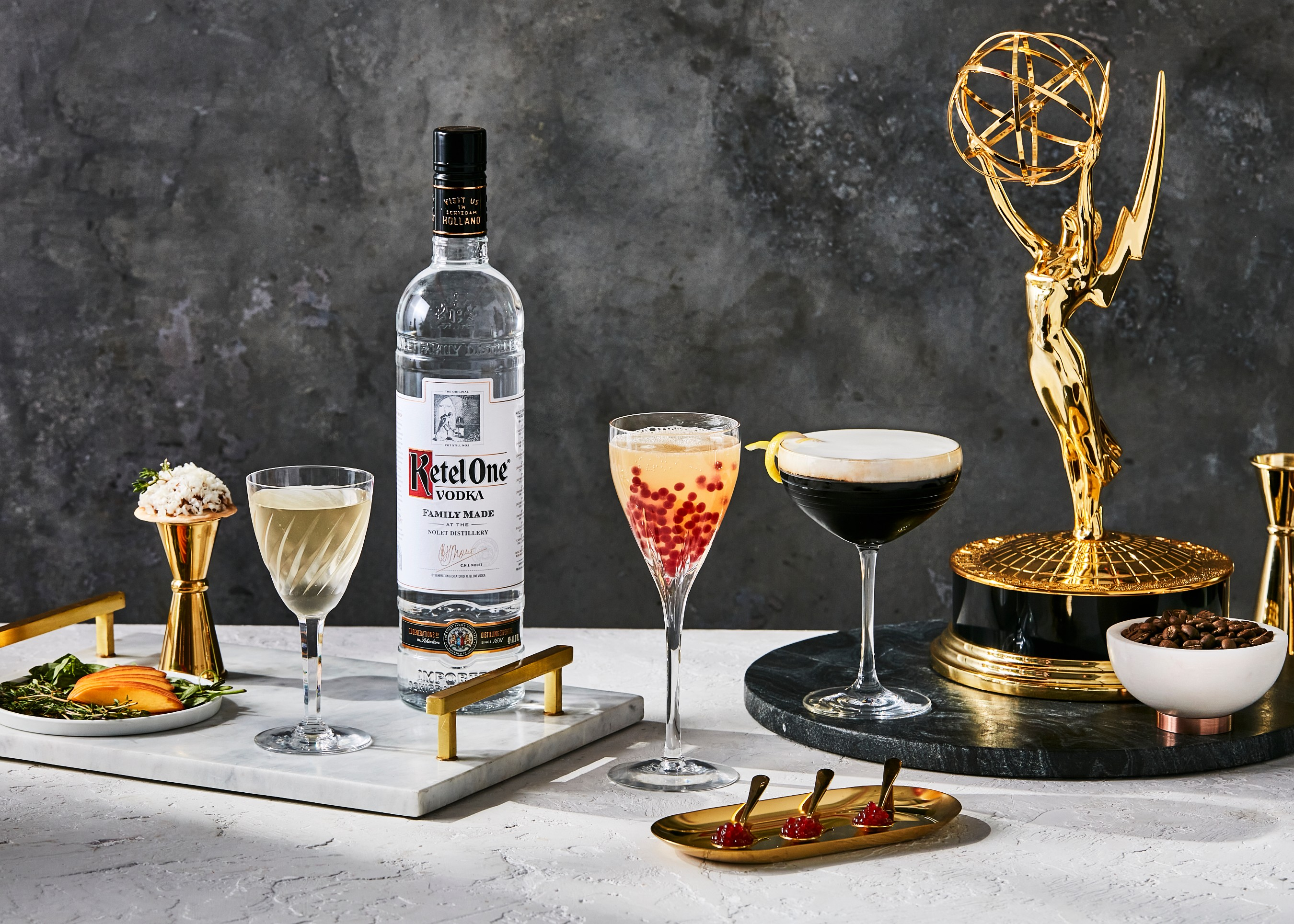The Official Ketel One Emmys Cocktail Collection