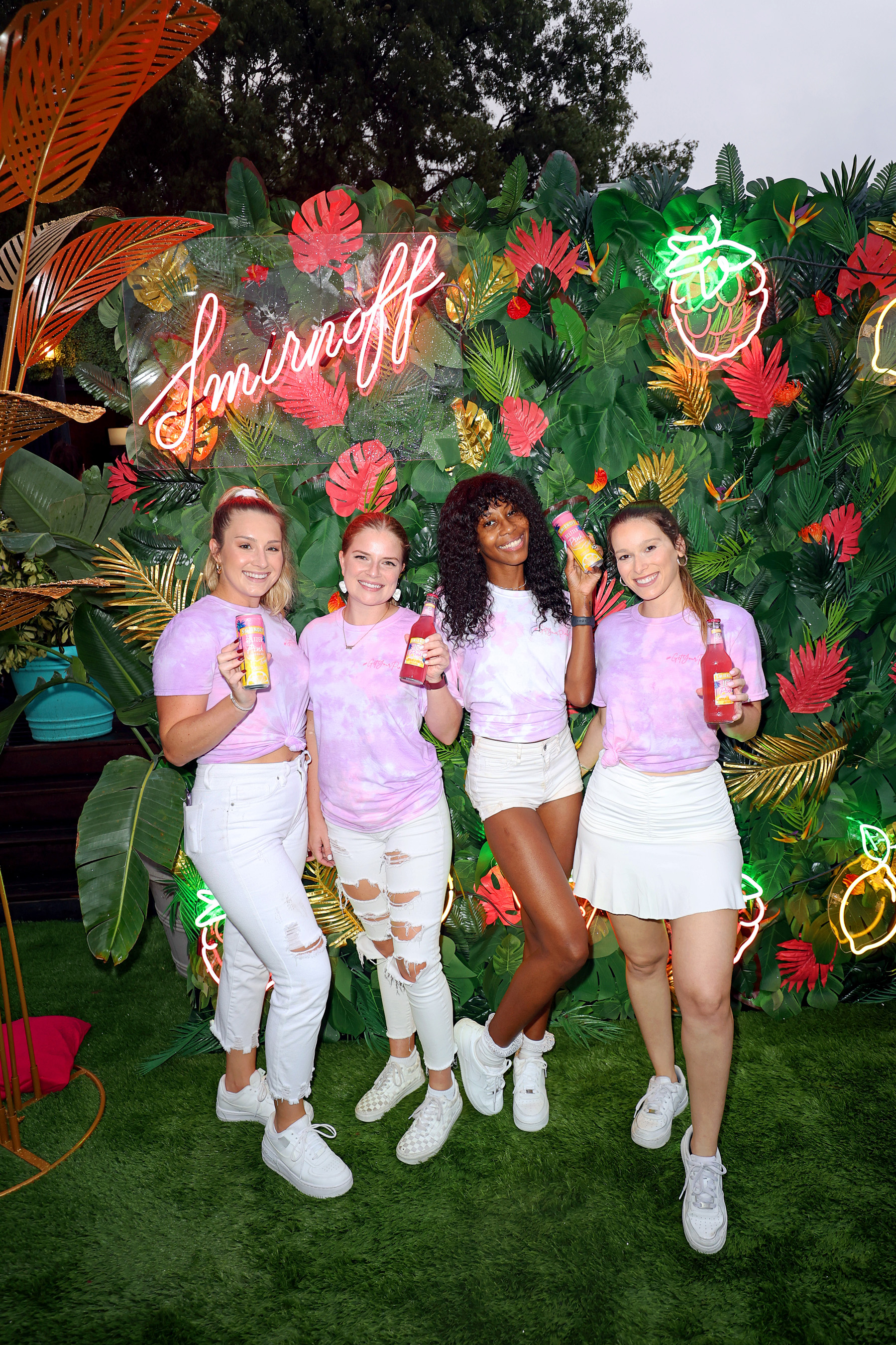 Smirnoff Paints Miami Pink with the Help of Music Superstar Ty Dolla $ign, a Larger-Than-Life Pink Flamingo and Pop-Up Neon Lemonade Stand Serving Its Newest Pink Lemonade Offering