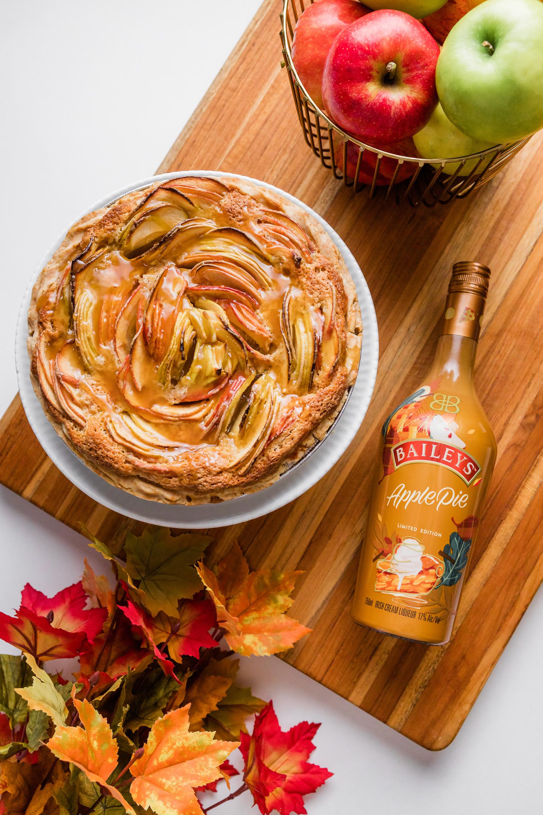 Justice of the Pies, Cobblestone Baileys Apple Pie