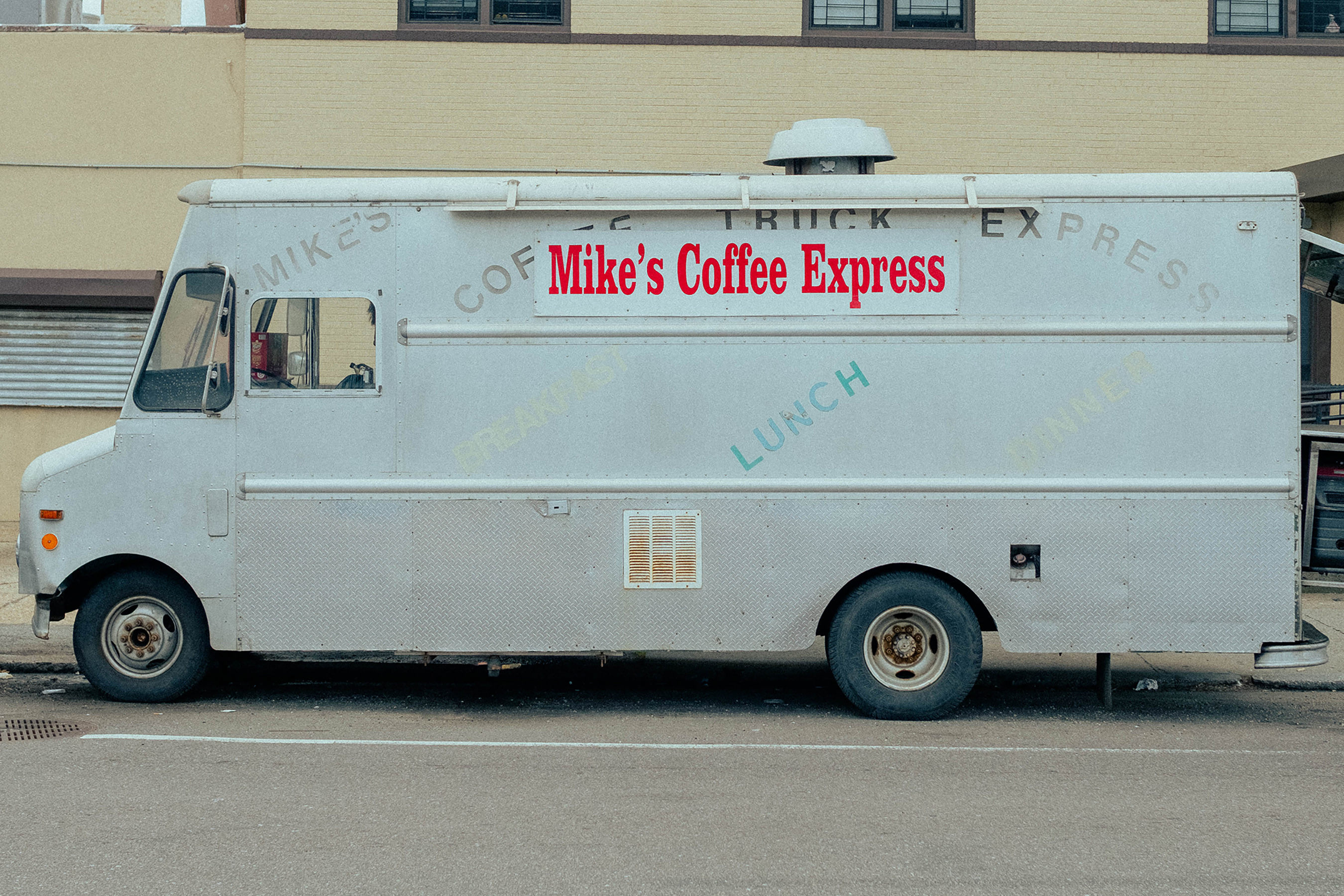 Mike's Express Truck Before Painting By Magda Love