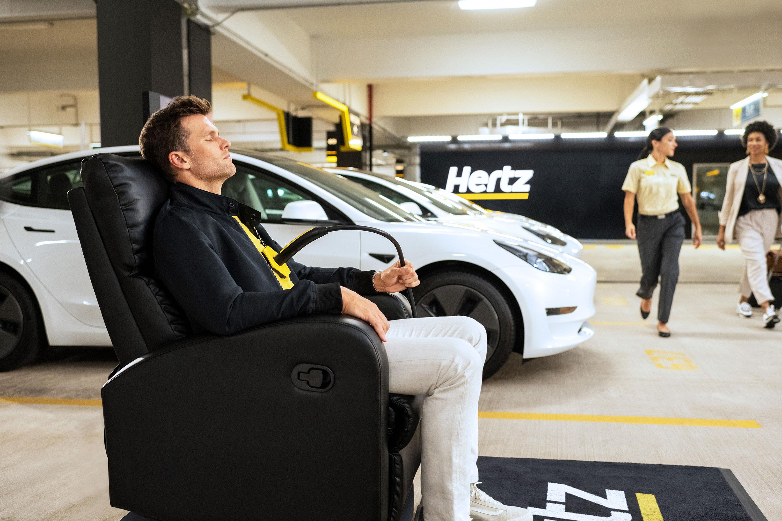 Behind the scenes at Hertz's