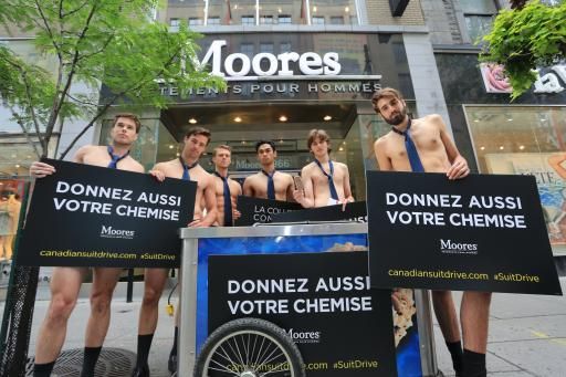 Canadian Suit Drive - Montreal