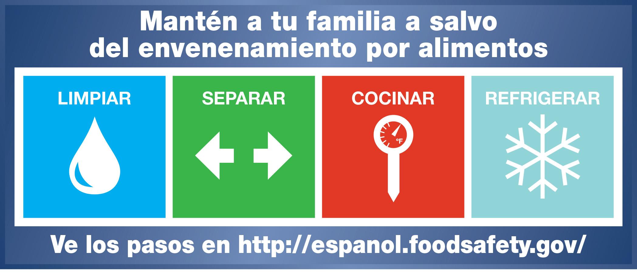 Mantén a tu familia a salvo del envenenamiento por alimentos