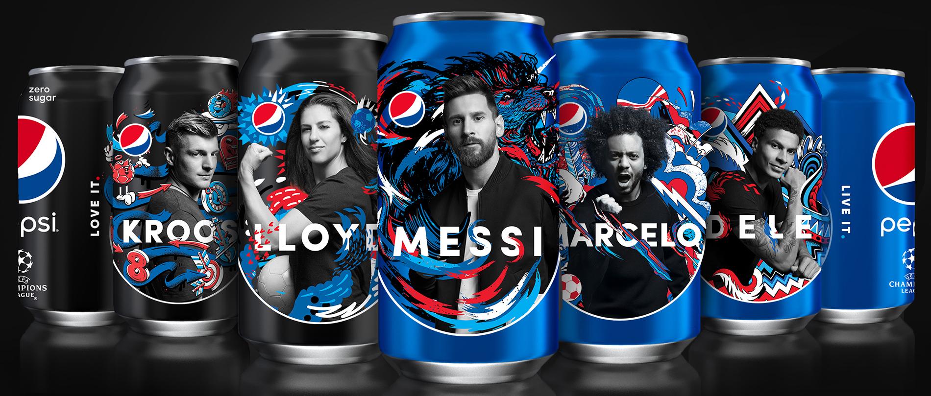 Pintar Al Mundo De Azul Pepsi 174 Ama Y Vive El F 250 Tbol Con