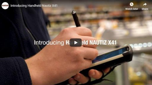 Introducing Handheld Nautiz X41 Video