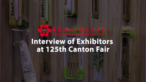Interview d'exposants à la 125è Foire de Canton (Hubei Crown Housewares Co., LTD)