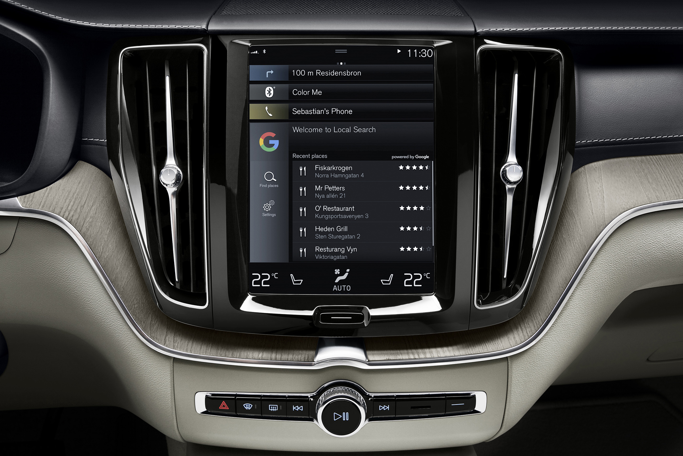 Volvo Cars Partners With Google To Build Android Into