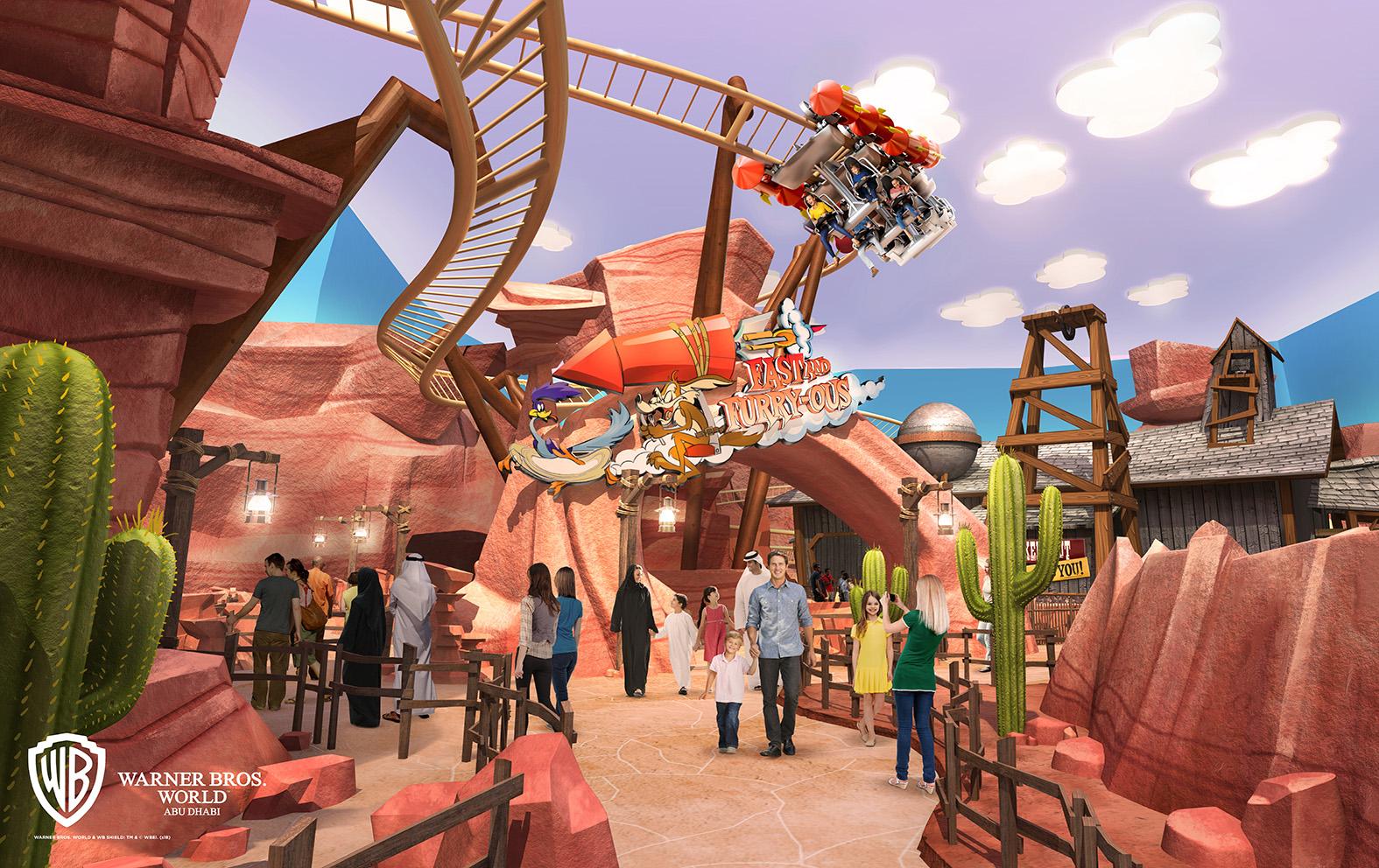 Warner Bros World Abu Dhabi Brings Animation Favorites