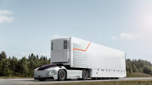 Volvo Trucks is developing a new type of transport solution consisting of autonomous electric commercial vehicles that can contribute to more efficient, safer and cleaner transportation.