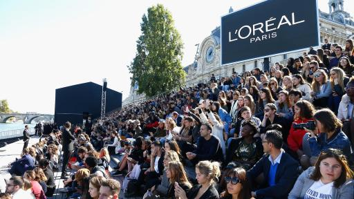 LOREAL Front Row Quai Hekimian Crédit Getty Images