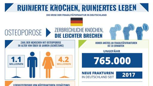 Broken Bones Broken Lives Report infographic for Germany