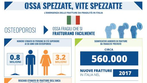 Broken Bones Broken Lives Report infographic for Italy