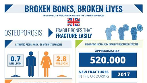 Broken Bones Broken Lives Report infographic for the UK