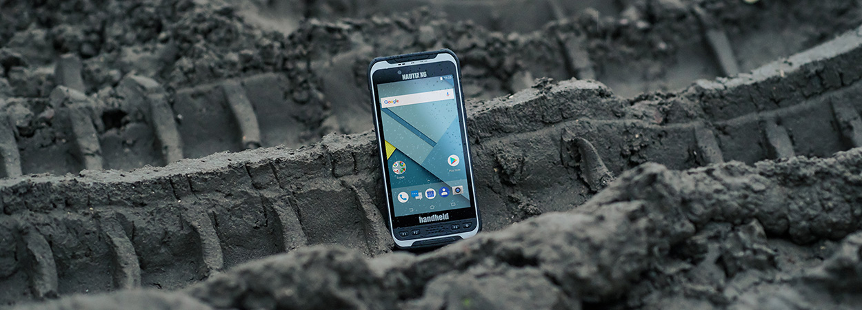 Image of new ultra-rugged Android phablet, the Nautiz X6 by Handheld