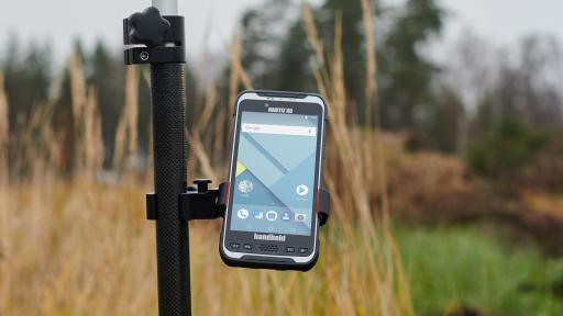 Image of the Nautiz X6 on a pole mount.