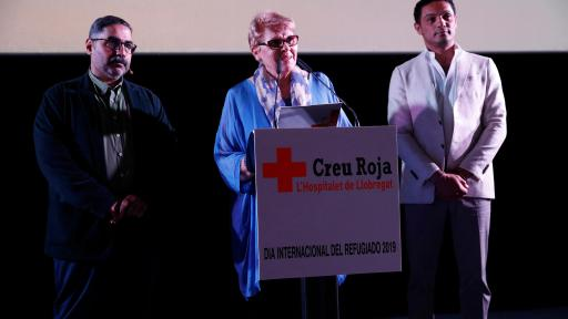 Cruz Roja has given its support to the premiere.