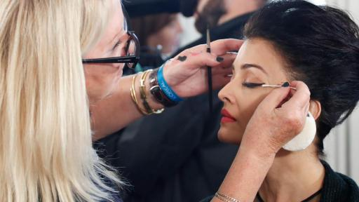 Le Défilé - L'Oreal Paris - Aishwarya Rai - Backstage - Photo Credit: Delphine Achard