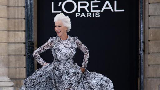 Le Défilé - L'Oreal Paris - Helen Mirren - Photo Credit: Giovanni Giannoni