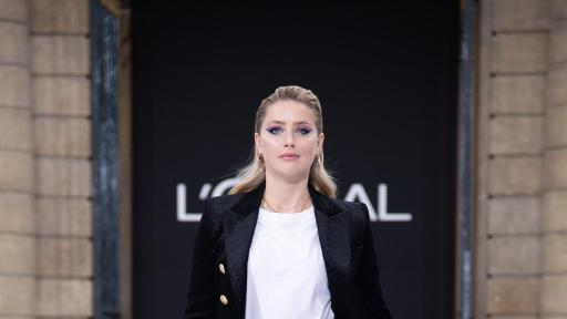 Le Défilé - L'Oreal Paris - Amber Heard - Photo Credit: Giovanni Giannoni