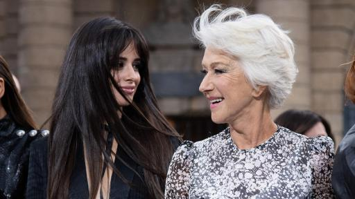 Le Défilé - L'Oreal Paris - Camila and Helen Mirren - Photo Credit: Giovanni Giannoni
