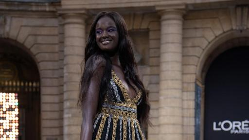 Le Défilé - L'Oreal Paris - Duckie Thot - Photo Credit: Giovanni Giannoni