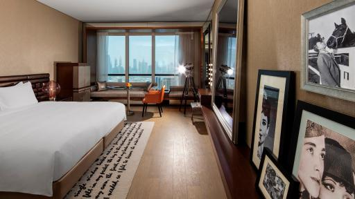 Image of Paramout Hotel rooms in Dubai <br> غرف فندق باراماونت دبي