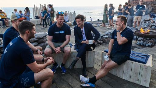 Talikser Whisky Atlantic Challenge - Matt Smith chats with rowers ahead of The Talisker Whisky Atlantic Challenge