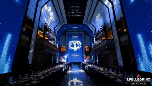 Image of The dinner hall of the Regional Final in Shanghai