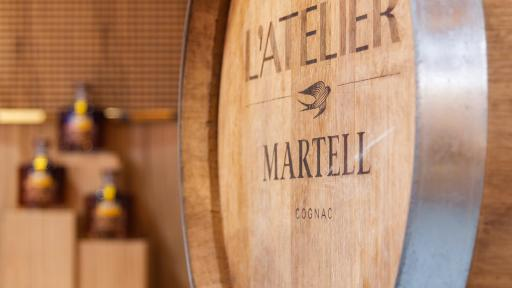 Image of L'Atelier Martell Shenzhen Cognac from the cask Experience