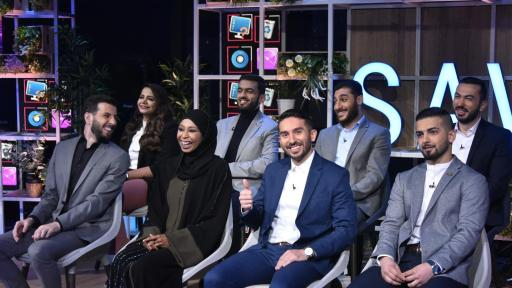 Image of The top eight Arab innovators of Stars of Science Season 12 in the concept prototyping episode