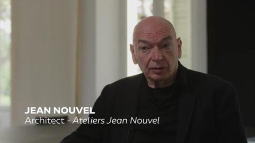 Video interview with Jean Nouvel