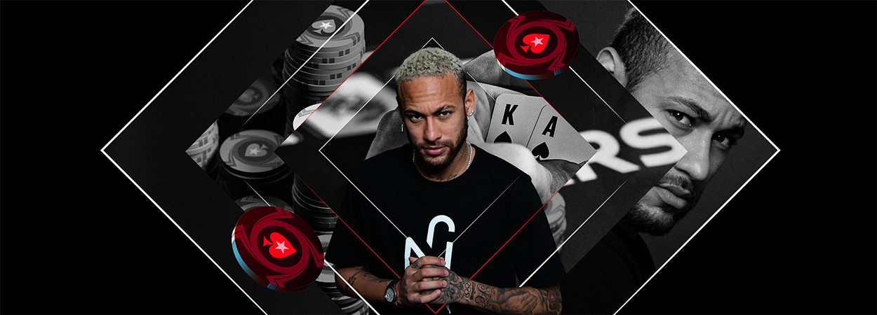 STARS REALIGN AS FOOTBALL LEGEND NEYMAR JR GOES ALL IN WITH POKERSTARS